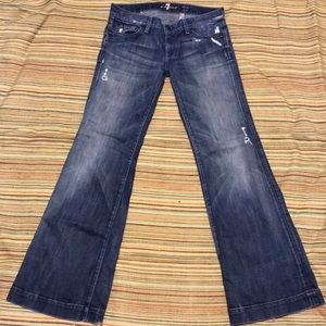 7 for all mankind Jeans sz 28 P